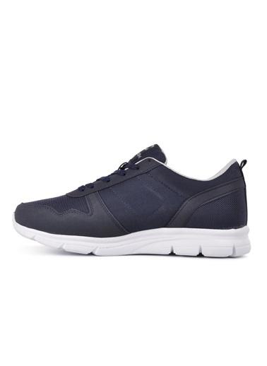 CRUSH 652 Siyah-Beyaz Erkek Spor Ayakkabı Lacivert